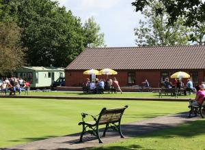 5 Star caravan park with clubhouse