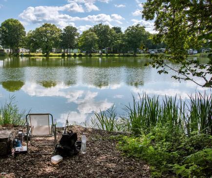 5 star caravan park with fishing lake