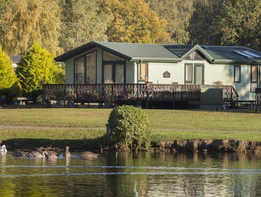 Holiday homes at Pearl Lake country holiday park