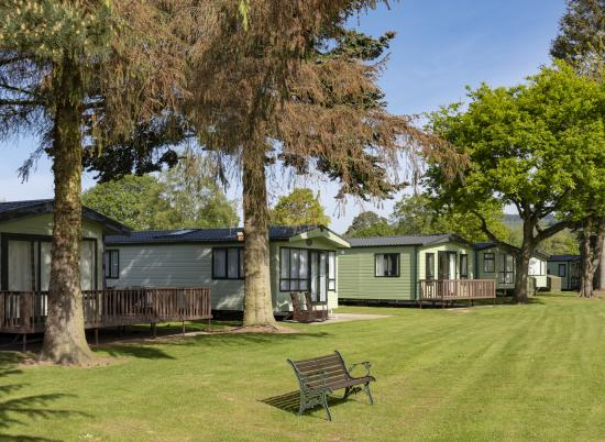 5 star caravan holiday park, Hereofdshire photo