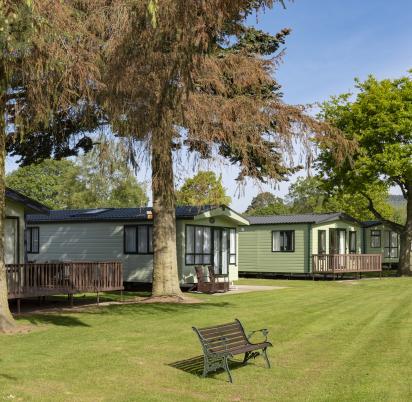 5 star caravan holiday park, Hereofdshire photo