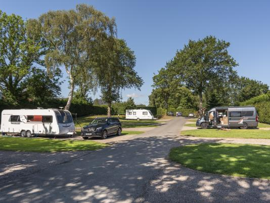 5 star caravan holiday park, Herefordshire photo