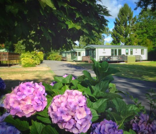 Holiday caravan hire Herefordshire