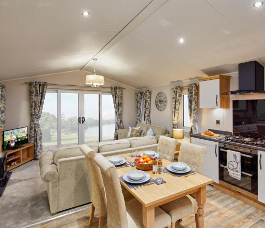 Willerby Dorchester Living area photo