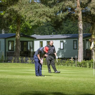 5 star holiday park with golf course photo