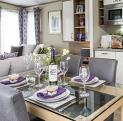 Pemberton Marlow for sale 5 star caravan park, Wales - dining area