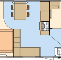 Atlas Debonair for sale at Discover Parks - floor plan